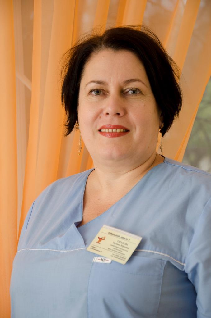 Зав. Родильным отделением. Врач акушер-гинеколог Таганова Т. Ю.